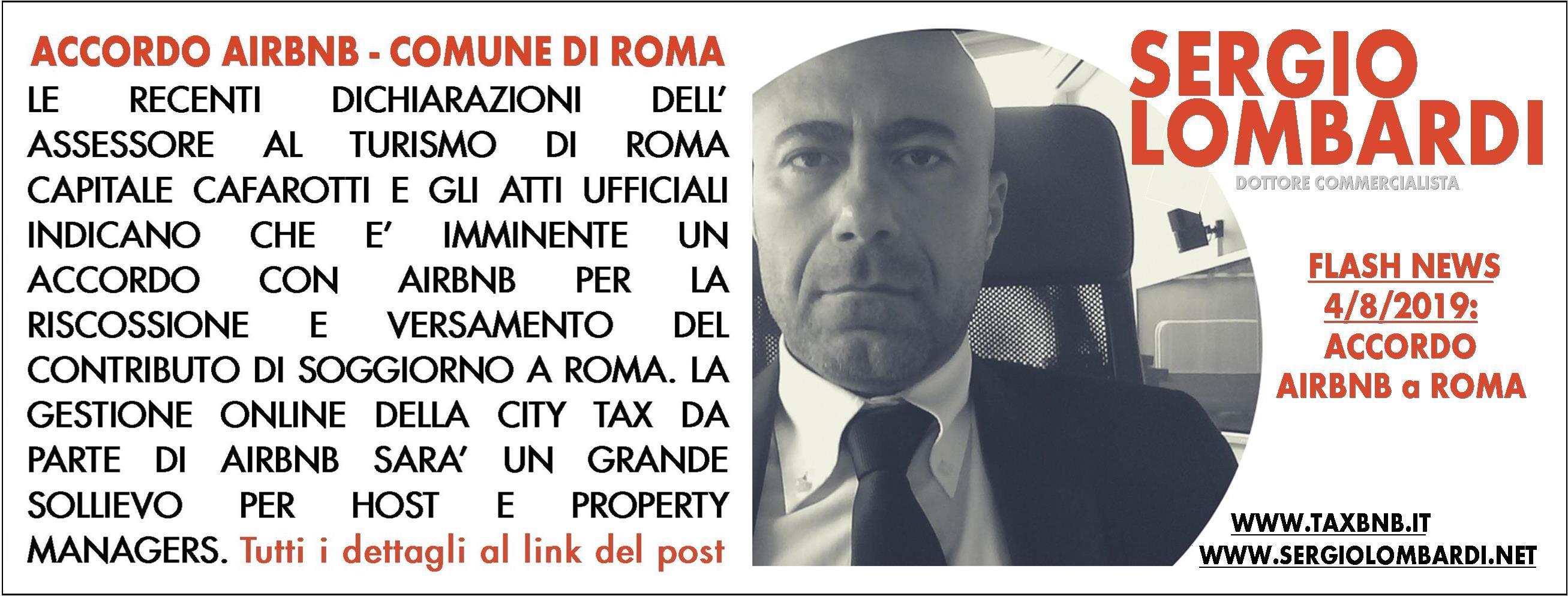 Accordo Airbnb a Roma - Sergio Lombardi - Specializzato in ...